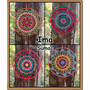 Mandalas Tejidas Al Crochet 30 Cm Artesanal