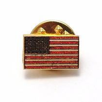 Pin Bótom Broche Bandeira Estados Unidos Eua Folheado Lindo