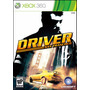 Juego Driver San Francisco Xbox 360 Ntsc Español