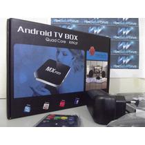 Tv Box Kitkat 4.4 Atual Mx Pro, Netflix, Youtube, Quad Core