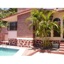 Casa En Acapulco, Alberca, 4 Recamaras, Fracc Costa Azul