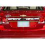 Vista Cajuela Chevrolet Cruze Metalica En Cromo 09-13