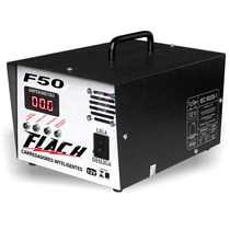 Carregador Inteligente De Bateria Flach F50 O Top Do Brasil