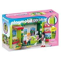 Playmobil Set 5639 Floreria Y Macetas Ciudad Casa Maletin Js