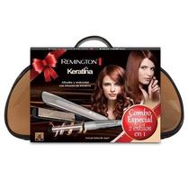 Kit Remington Planchita S8590 + Rizador Ci5325 C/bolso Tucum