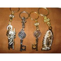 Llaveros Religiosos, San Benito San Judas Virgen Gpe Mayoreo