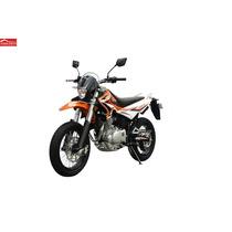 Moto Qingqi / Qm250gy-da Color Negro / Naranja Año 2015