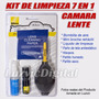 Kit De Limpieza Camaras Lente Filtros 7 En 1 Nikon / Canon