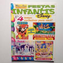 Revista Mãos De Ouro Especial Festas Infantis Mickey Nº05