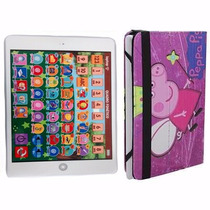 Tablet Educativo Iterativo + Capa Infantil Peppa Pig Frete G