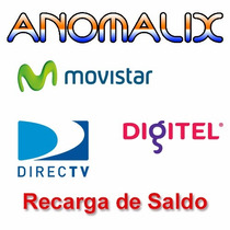 Recarga Tu Saldo Movistar Digitel Y Directv Las 24 Horas