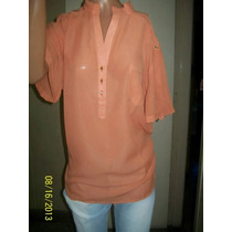 Camisas Gasa Mangas Cortas Liquidacion T 4 Y 6 $ 400