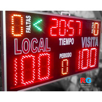 Tablero Electrónico Marcador Deportivo Básquetbol Score Time