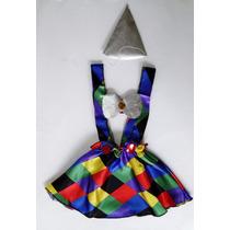 Fantasia Infantil Palhaça - Palhacinha Carnaval Para Menina
