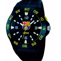 Reloj Oficial Fc Barcelona Nuevos Lorus By Seiko (casio,