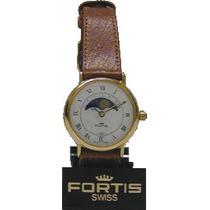 Nuevo Reloj Suizo Original Fortis De Pulsera Para Dama