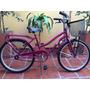Bicicleta Paseo Nena, Dama Rodado 24 Full.