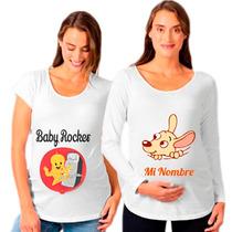 Remeras Personalizadas Embarazadas Baby Shower