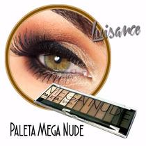 Paleta De Sombra Matte Mega Nude Luisance L689 A Legítima