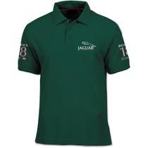Camisa Polo Fórmula Retrô - Jaguar Racing 2001 - Irvine F1