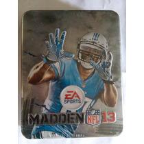 Madden Nfl 13 Ps3 Caja Metalica Nuevo Sellado Playstation
