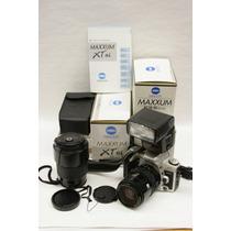 Minolta Xtsi 35mm Lent28-85mm, 70-210mm,camara Flash Gratis