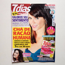 Revista 7 Dias Com Você Carolina Dieckmann Juliana Paes