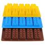 Molde De Silicona Lego Rastis Ladrillos