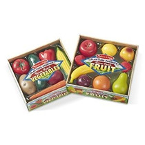 Melissa & Doug Play-time Bundle Frutas Y Verduras