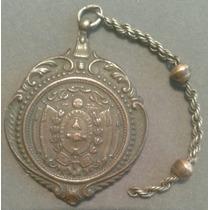 Medalla Gran Ferrocarril Del Sud Al Neuquen Argentina 1899