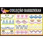 Matrizes,bordados,coleção 100 Barrinhas Pes Jef Xxx Hus
