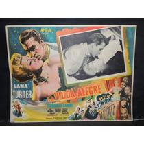 Lana Turner, La Viuda Alegre / The Merry Cartel Lobby Card