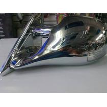 Espejo Cromado Con Luz Para Tsuru 3 Tipo M3 Deportivo Unico