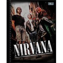 Caderno Tilibra Nirvana 10 Matérias 200 Folhas