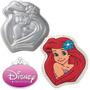 Ariel Princesas Princess Molde Para Torta Gelatina Wilton
