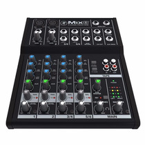 Mesa Mackie Mix8 Compact Mixer 8 Canais, 11602 Musical Sp