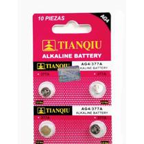 50 Pilas Ag4/377/sr626 Alkalina 1.5 V Para Reloj Y Juguete