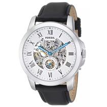 Relógio Masculino Fossil Automático Me3053/0ki Pulseira