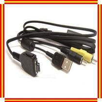 Cable Usb Audio Video Vmc-md1 P/camara Digital Sony Dsc-w300