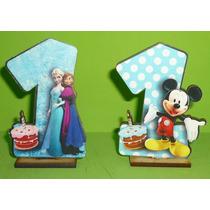 20 Souvenirs + Central Mi Primer Añito Frozen Y Mickey