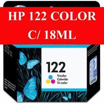 Cartucho Hp 122 Xl Colorido Deskjet 1000 2000 2050 3050 18ml