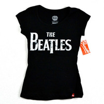 The Beatles Playera De Dama 100% Original