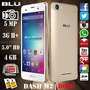 Telefono Blu Android 6.0 4g 4 Nucleo 5mp Flash Lcd 5 Dash M2