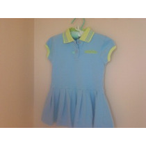 Vestido Azul Marca Adidas Talla 2t