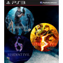 Combo Resident Evil 4 - 5 Gold Edition - 6 Ps3 Digital - Jxr