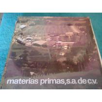 Disco Acetato De Materias Primas S.a De C.v