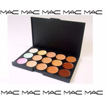 Paleta De Correctores Mac De 15 Tonos Maquillaje