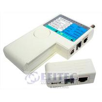 Efi-acccact015 Probador De Cables P/bnc Usb Rj45 Rj11 Efitec
