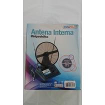 Antena Interna Miniparabólica Newpro Uhf/vhf Anal/digital