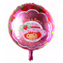 Balão Metalizado Moranguinho Baby - Kit C/10 Balões